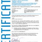 FFP2 Zertifikat