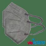 CE zertifizierte Atemschutzmaske grau