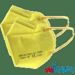 CE zertifizierte Atemschutzmaske gelb