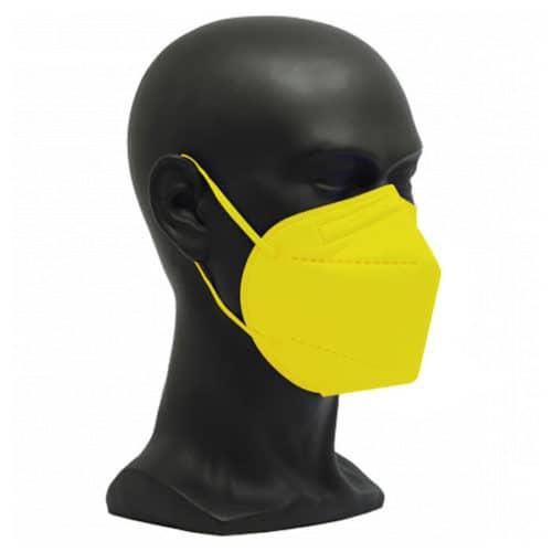 CE zertifizierte Atemschutzmaske FFP2 gelb