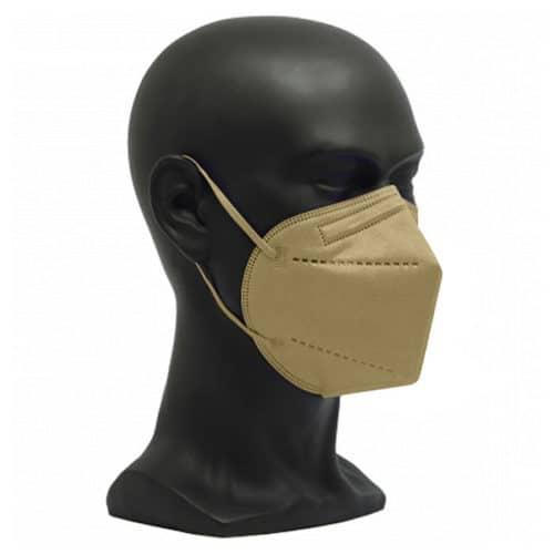 CE zertifizierte Atemschutzmaske FFP2 gold
