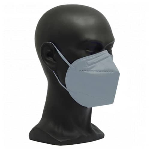 CE zertifizierte Atemschutzmaske FFP2 grau