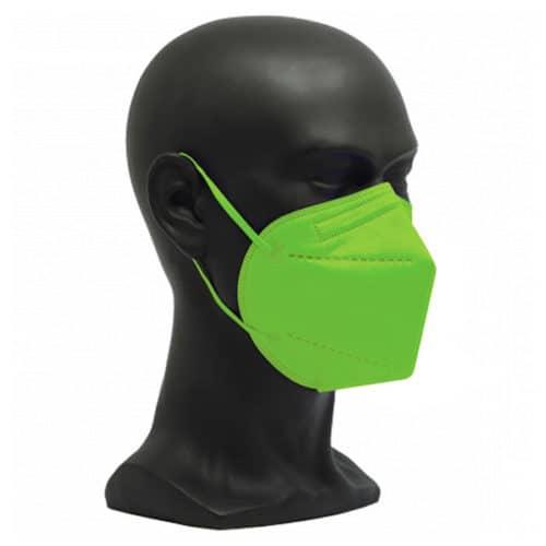 CE zertifizierte Atemschutzmaske FFP2 hellgrün