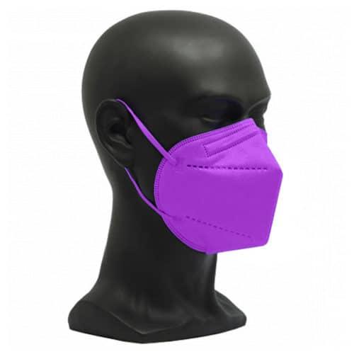 CE zertifizierte Atemschutzmaske FFP2 lila
