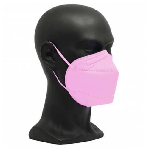 CE zertifizierte Atemschutzmaske FFP2 rosa