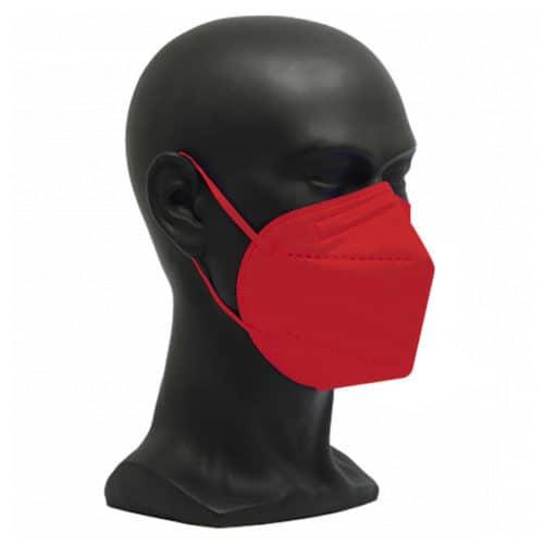 CE zertifizierte Atemschutzmaske FFP2 rot