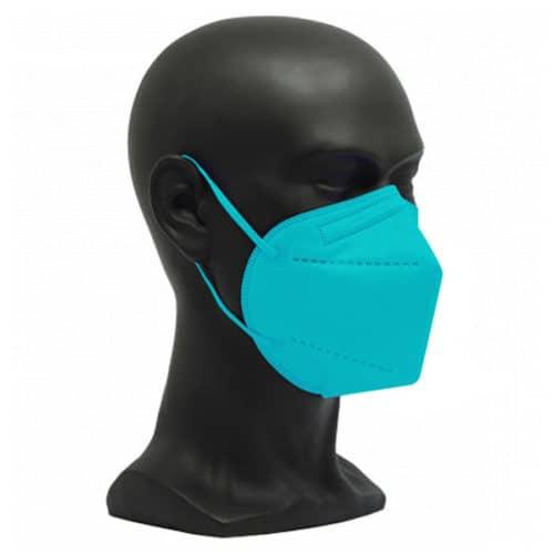 CE zertifizierte Atemschutzmaske FFP2 türkis