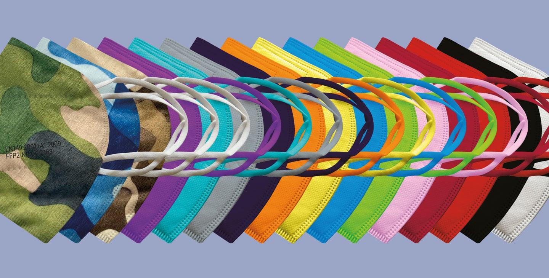 vicicare FFP2 Masken in vielen Farben