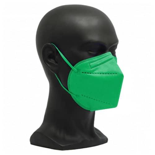 CE zertifizierte Atemschutzmaske FFP2 grün