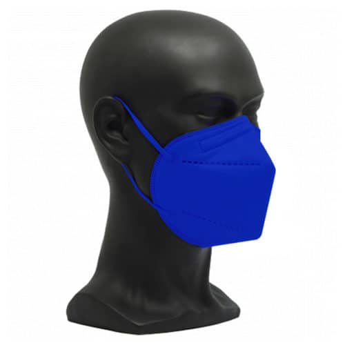 CE zertifizierte Atemschutzmaske FFP2 königsblau