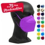 vicicare Aktion farbige Masken ab 75 Stück
