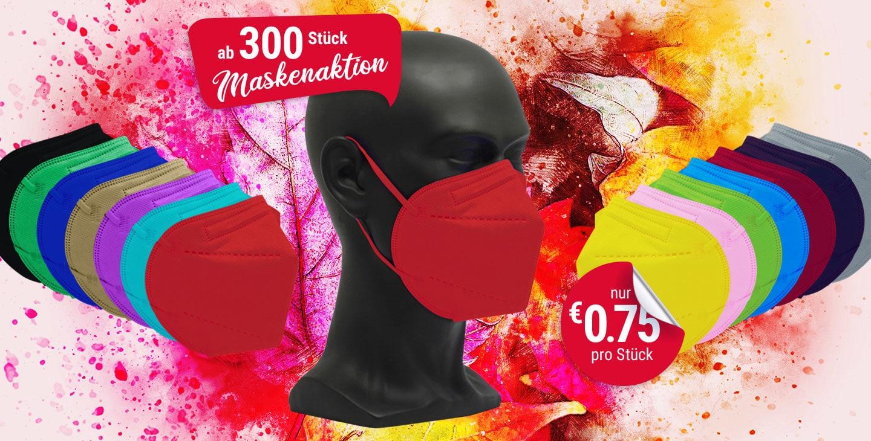 vicicare FFP2 farbige Schutzmasken Aktion 300